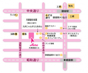 銀座マップ